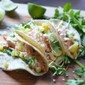 Grilled Salmon Tacos with Chipotle Lime Crema and Fresh Cilantro Slaw