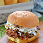 Slow Cooker Root Beer Pulled Pork Sandwiches