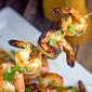Pineapple Cilantro Shrimp