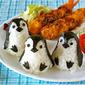 How to Make Baby Penguin Onigiri Rice Balls (One Plate Lunch / Bento Idea) - Video Recipe