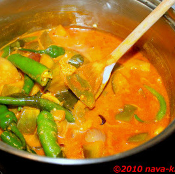 Indian Vegetable Curry
