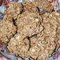 Oatmeal Breakfast Cookies with Apples and Almonds
