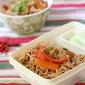 Lunchbox Ideas : Vegetable Peanut Noodles
