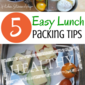 5 Easy Tips to Help you Pack Super Successful Real Food Lunches this School Year