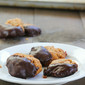 Chocolate Dipped Almond Butter Bites