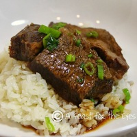 Asian Short Ribs Pressure Cooker Style