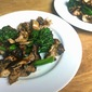 Gas-Grilled Chicken Thighs and Broccolini with an Asian Flair