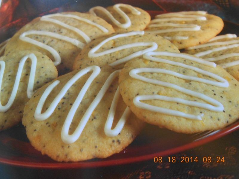 Hungarian Lemon Poppy Seed Cookies