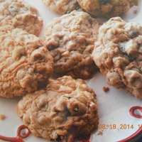 Easy Cake Mix Oatmeal Craisin Cookies