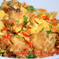 Chicken With Salted Eggs