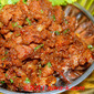 Almond Spicy Mutton Varuval