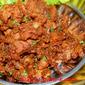 Almond Spicy Mutton Varuval