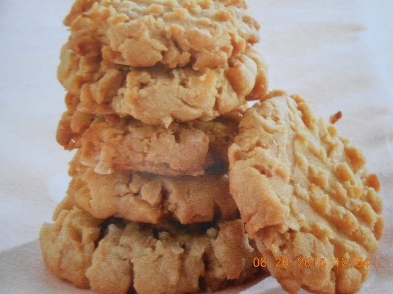 Toffee & Coconut Peanut Butter Cookies