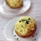 Sour Cream and Chives Twice Baked Potatoes