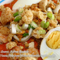 Special Pancit Palabok with Crab Meat