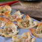 Baked Crab and Artichoke Rangoon