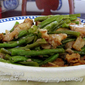 Sauteed String Beans with Shrimp Paste