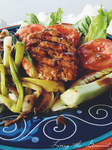 Chicken Burgers with Spicy Rub