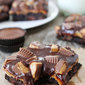 Chocolate and Peanut Butter Lover's Brownies {GIVEAWAY}