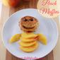 Peach muffins – yummy dessert with peaches