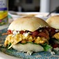 Hot Chicken Wing Dip Sliders (Made with Deli Wings)