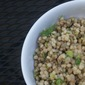 Lentil Couscous with Tahini Cumin Dressing