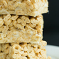 Honey Nut Cheerios & Banana Marshmallow Cereal Treats
