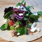 Mediterranean Tuna Wraps with Feta and Avocado