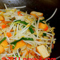 Bean Sprouts And Salted Fish Stir-Fried
