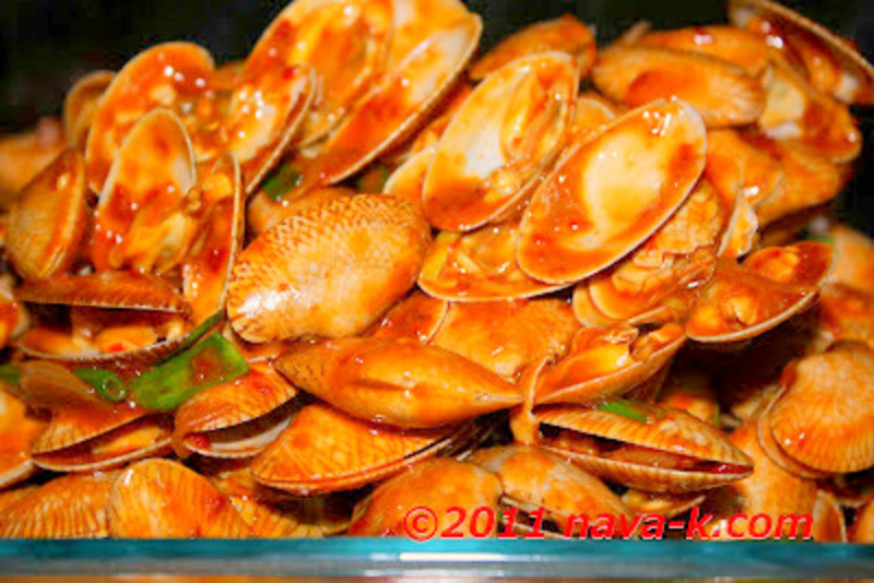 Chilli Honey Clams (Lala)