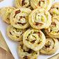 Artichoke Bacon Pinwheels #12Bloggers