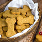 Peanut Butter & Cheese Dog Biscuits