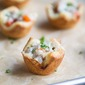 Cheesesteak Crescent Roll Cups