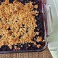 Blueberry and Blackberry Crisp