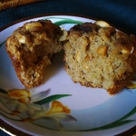 Peanutty Banana Streusel Muffins
