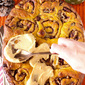 Pumpkin Maple Pecan Rolls (with Pumpkin Cream Cheese Icing!)