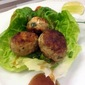 A Painful Lesson...Chicken Meatballs With Ginger And Lemongrass