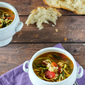 Turkey Soup with Zucchini Noodles {and some words of advice}