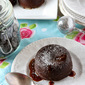 Chocolate and Salted Caramel Molten Lava Puddings with KitchenAid