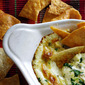Poblano Queso with Homemade Tortilla Chips