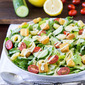 Caesar Salad with Cheese Tortellini