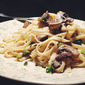 Light Fettuccine with Mushrooms