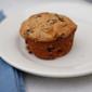 Cardamom Plum Sour Cream Muffins