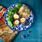 Moroccan Vegetarian Haggis Scotch Eggs