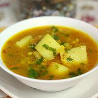 Hot Masala Lentil Soup