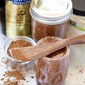 Clean Eating Chocolate Pumpkin Spice Almond Butter