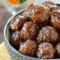 Slow Cooker Cocktail Meatballs + Giveaway!