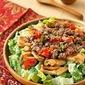 Kati flatbread salad
