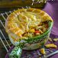 Chicken Gumbo Pot Pies