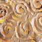 Pumpkin Spice Cinnamon Rolls with Maple Glaze